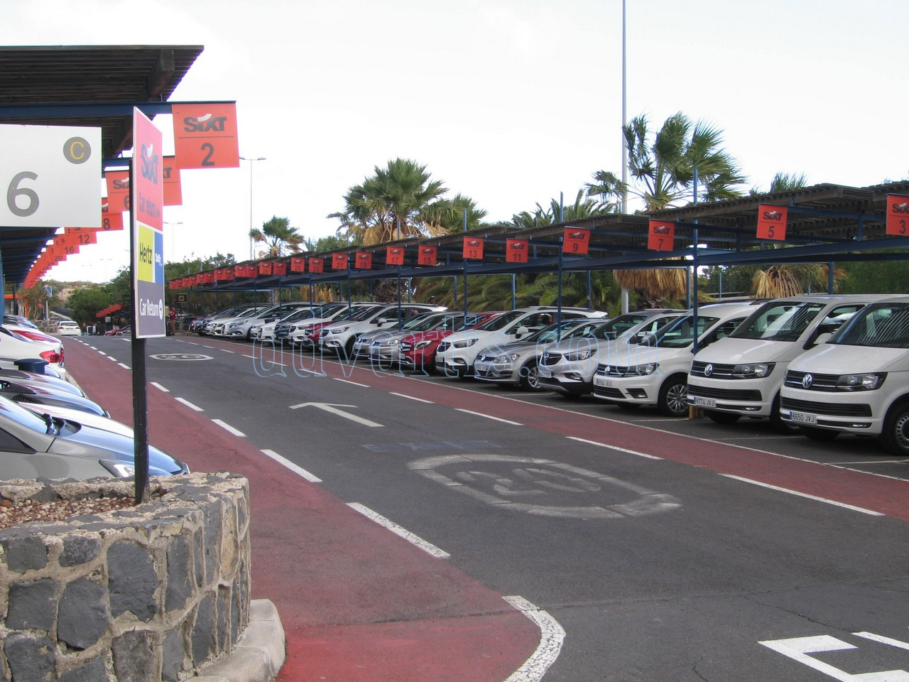 Car hire Tenerife airport south Sixt